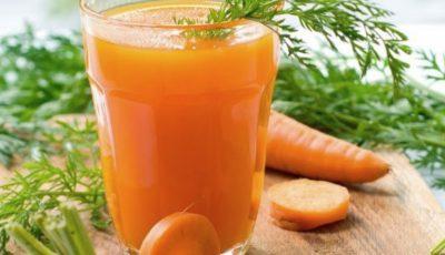 Sucul de morcovi reduce riscul de cancer pulmonar cu până la 35%