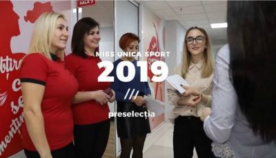 Imagini VIDEO de la preselecția Miss Unica Sport 2019!