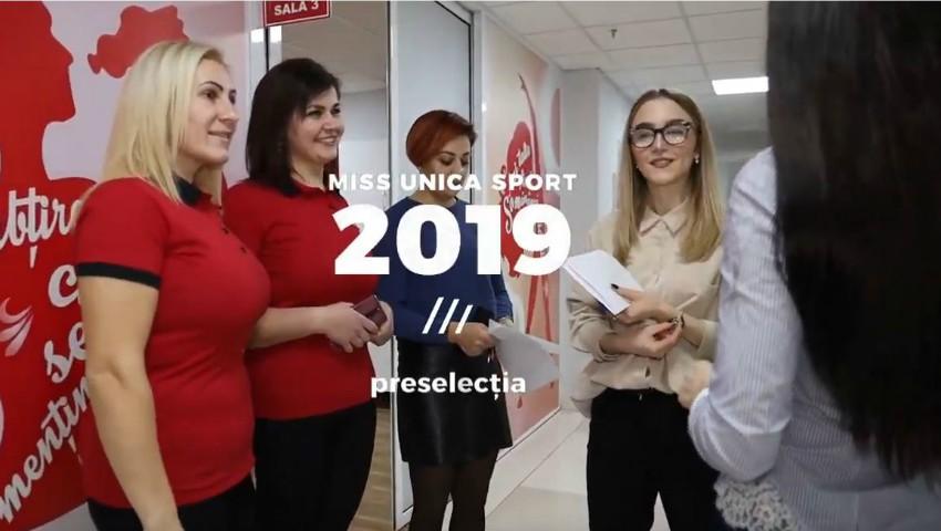 Foto: Imagini VIDEO de la preselecția Miss Unica Sport 2019!