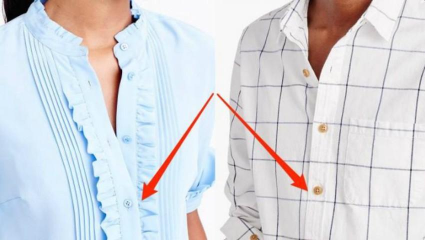 Foto: Motivul pentru care femeile au nasturii și fermoarul pe partea stângă, iar bărbații pe dreapta