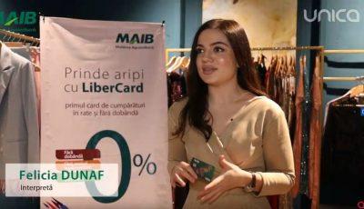 Bucură-te de cumpărături cu LiberCard! Orice plată cu LiberCard în peste 1500 magazine partenere, înseamnă rate cu 0% dobândă și 0 lei comision