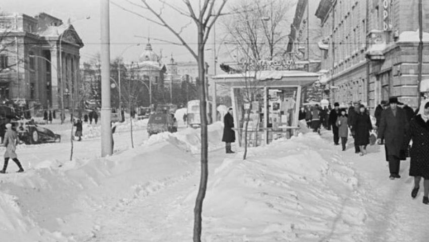 Foto: Chișinău. Iarna lui 1970!