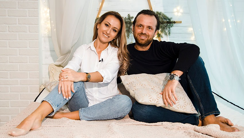 Foto: Andrei Cocieru și Mihaela Teslari: Proba de foc la testul de cunoaștere!