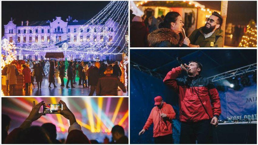 Foto: Cel mai feeric târg de sărbătoare din țară s-a încheiat cu un concert extraordinar, la Castel Mimi