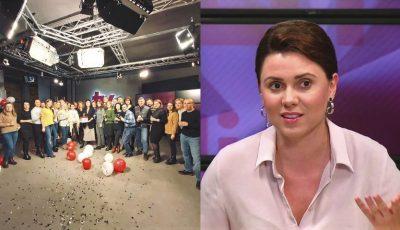 Natalia Morari, surprinsă de colegii săi din redacție! Vezi ce farsă i-au făcut de ziua ei