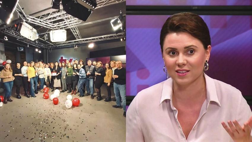 Foto: Natalia Morari, surprinsă de colegii săi din redacție! Vezi ce farsă i-au făcut de ziua ei