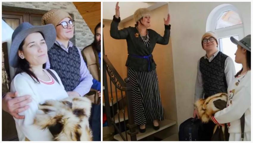 """Foto: Video! Cum e să te muți să locuiești cu părinții? Aflăm de la tinerii însurăței din familia ,,Zâmbărele""""!"""