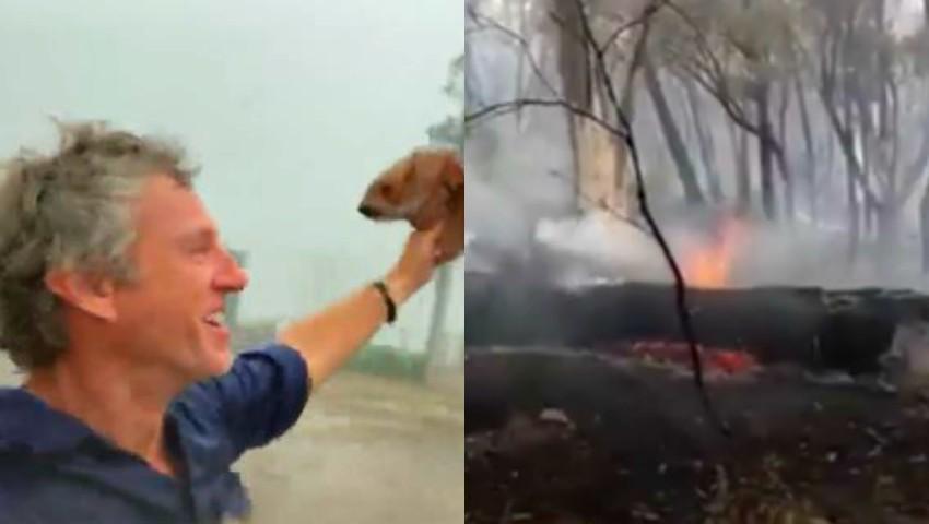 Foto: Video! Plouă torențial în Australia! Bucuria oamenilor este nemărginită