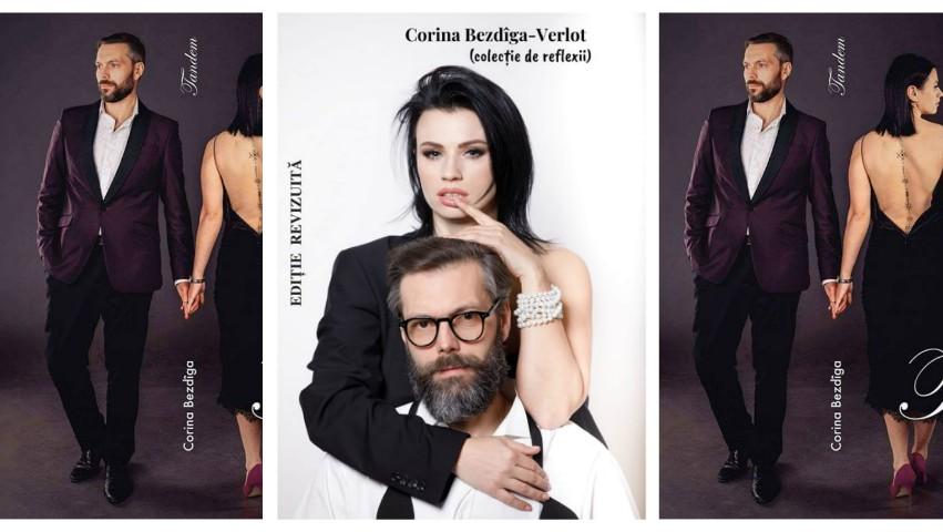 Foto: O provocare inedită! Cuplul Diana și Marco Ballerini, pe coperta unei cărți despre viață și dragoste