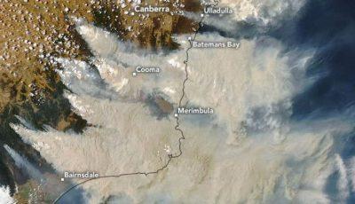 Fumul incendiilor din Australia a traversat Pacificul și a ajuns în Chile și Argentina
