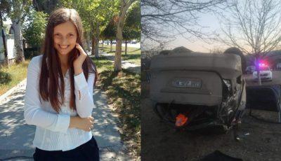 Tânăra care a sfârșit tragic în accidentul de la Hîncești, era jucătoare a echipei de volei feminin USM
