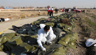 A fost publicată lista victimelor accidentului aviatic din Teheran. 15 copii se aflau la bord