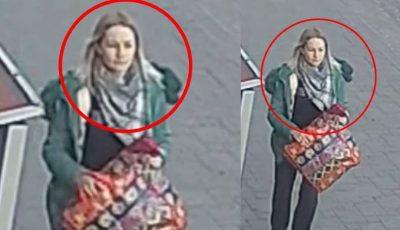 Poliția solicită ajutor în identificarea femeii din imagine