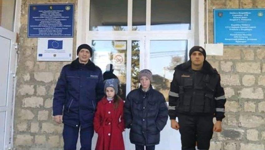 Foto: Copiii din Comrat, dați dispăruți, au fost găsiți. Unde se ascundeau?