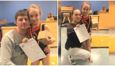 O fetiță originară din Moldova este una dintre cele mai bune gimnaste din Germania