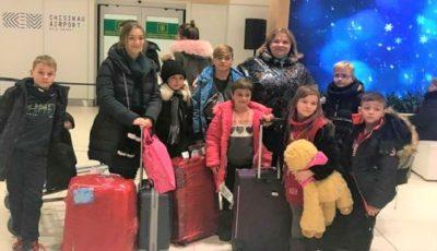 Nouă copii orfani şi-au petrecut vacanţa de iarnă în Italia