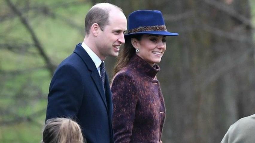 Foto: Cum s-a îmbrăcat Kate Middleton pentru a merge la biserică?