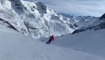 Video! Igor Dodon a plecat în vacanță la munte cu soția și copiii săi