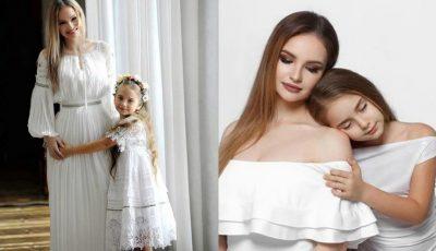 Amelia Uzun împlinește 10 ani! Mama ei, Ana Cernicova, a publicat un filmuleț emoționant