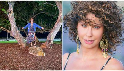 Natalia Barbu își etalează silueta în costum de baie, pe litoral. Artista arată senzațional!