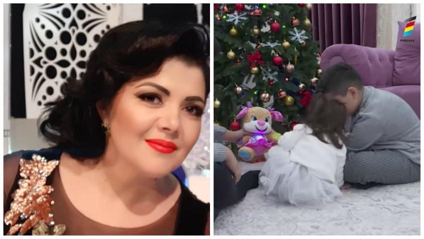 Foto: Interpreta de muzică populară Anișoara Dabija și-a arătat în premieră fetița. Nicoleta va împlini în curând doi anișori