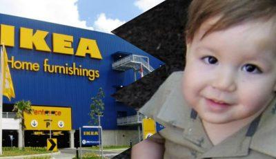 IKEA va plăti 46 de milioane de dolari părinților unui copil de 2 ani strivit de căderea unui dulap