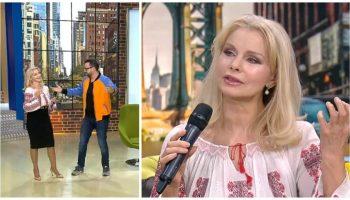 """De Crăciun pe stil vechi, Anastasia Lazariuc a fost invitată în platoul emisiunii ,,La Măruță"""""""