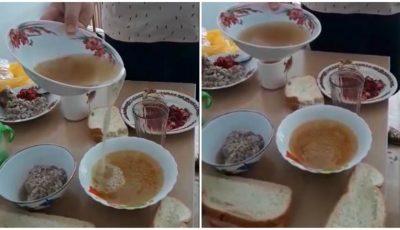 Imagini scârboase. Cum sunt hrăniți bolnavii la Spitalul Raional Cimișlia