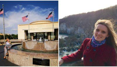 Olga este prima moldoveancă admisă la Universitatea lui George Bush din SUA