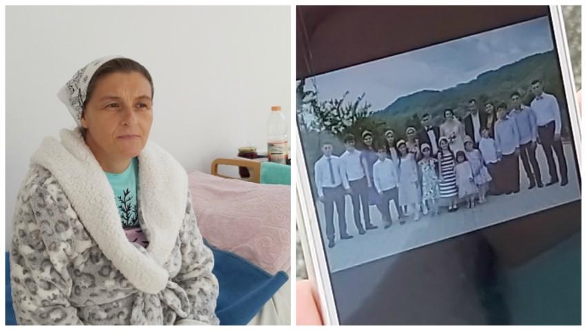Foto: O femeie din Argeș a născut 20 de copii până la vârsta de 42 de ani
