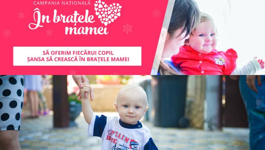 """Foto: Sute de donatori și-au manifestat bunătatea în cadrul campaniei ,,În braţele mamei"""""""