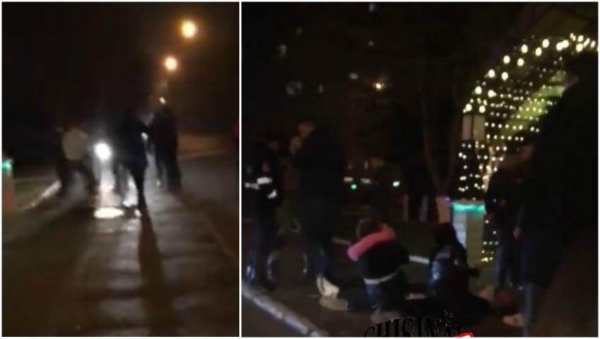 Foto: Video. Bătaie în Capitală, la un club de noapte. Doi tineri au ajuns la spital