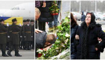 Cei 11 cetățeni ucraineni, decedați în urma prăbușirii avionului lângă Teheran, au fost repatriați în Ucraina