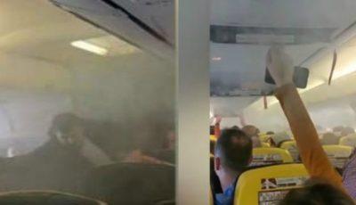 Panică teribilă la bord, pasageri înecați de fum! Un avion de pe cursa București-Londra, întors pe Otopeni