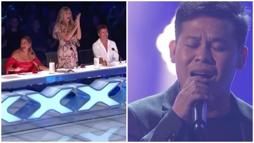 Foto: America's Got Talent: E uimitor cum poate să cânte acest tânăr! Așa ceva nu a mai văzut