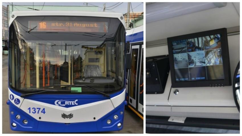 Foto: Se redeschide ruta de troleibuz nr. 16, cu modificarea itinerarului