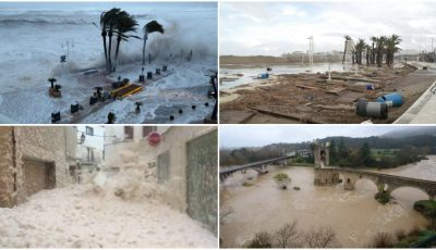 Furtuni devastatoare în Spania. 13 oameni au murit, iar câțiva sunt dați dispăruți