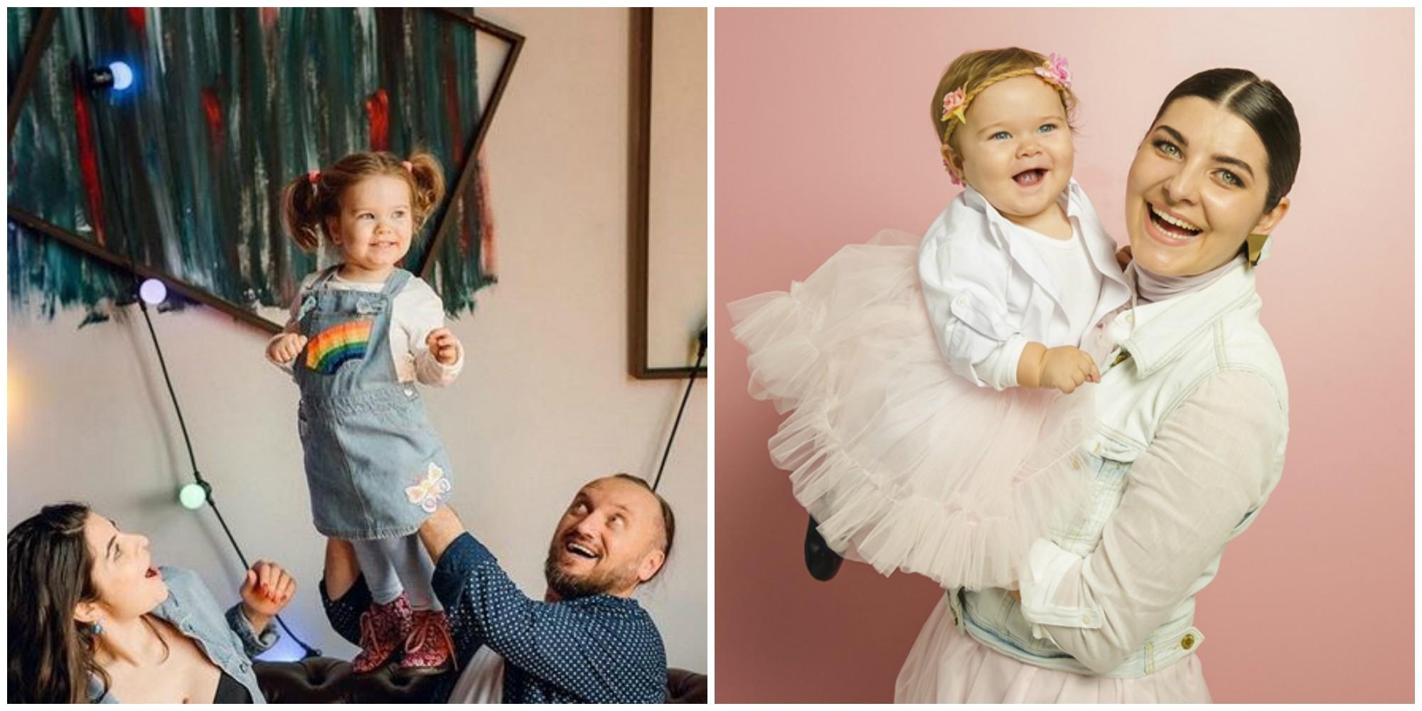 Foto: La mulți ani pentru Cassandra! Fiica Olesei Sveclă și a lui Anatol Durbală a împlinit 3 ani