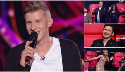 """Dan Bălan, surprins cu o piesă din repertoriul său, la ,,Vocea Ucrainei"""". Melodia i-a ridicat de pe scaune pe jurați!"""