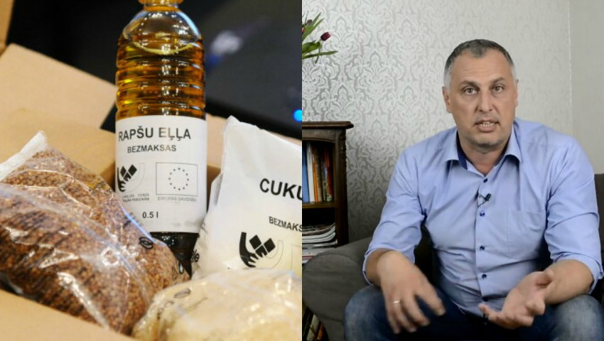Foto: Un deputat leton a trăit cu pensia minimală timp de o lună și a slăbit 8 kg