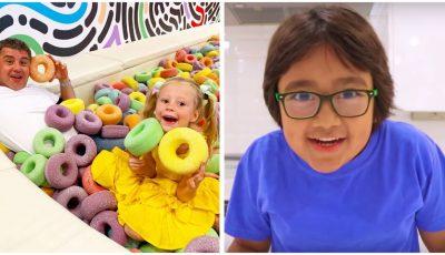 Un copil de 8 ani a câștigat, anul trecut, 26 de milioane de dolari din YouTube
