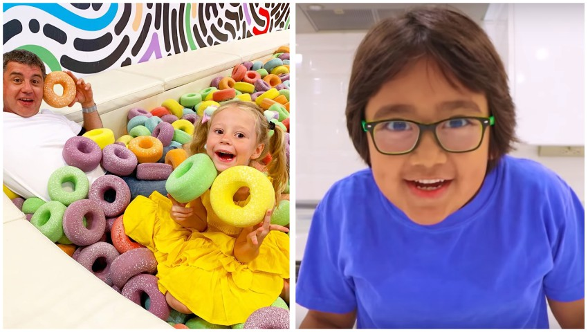 Foto: Un copil de 8 ani a câștigat, anul trecut, 26 de milioane de dolari din YouTube