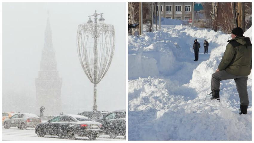 Foto: Foto! Ninge abundent în Rusia și în România