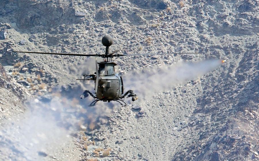 Foto: Un elicopter din Republica Moldova a fost doborât în Afganistan