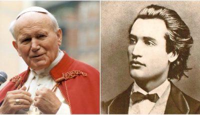 Rugăciunea neștiută a lui Mihai Eminescu, care l-a impresionat și pe Papă