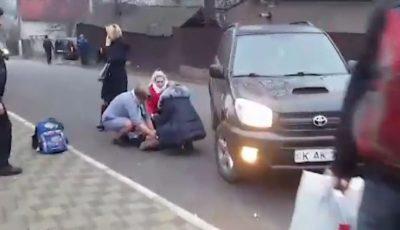 Un copil, lovit violent de o mașină la Durlești. Imagini cu impact emoțional puternic