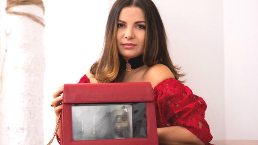 Foto: Moldoveanca Rusanda Davideanu este noua prezentatoare la un post TV din București