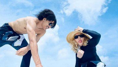Madonna și iubitul tinerel de 26 de ani, își petrec vacanța împreună