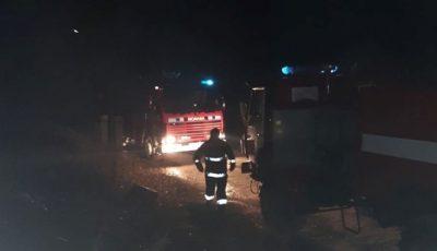 Incendiu la Căușeni. Un bărbat de 44 de ani a ars în casă