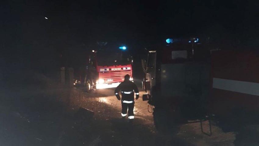 Foto: Incendiu la Căușeni. Un bărbat de 44 de ani a ars în casă